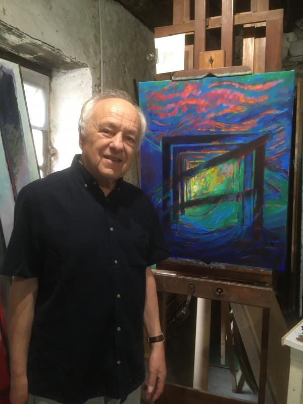 pierre-gauthier-dubedat-exhibits-his-paintings-in-saint-jean-pied-de-port