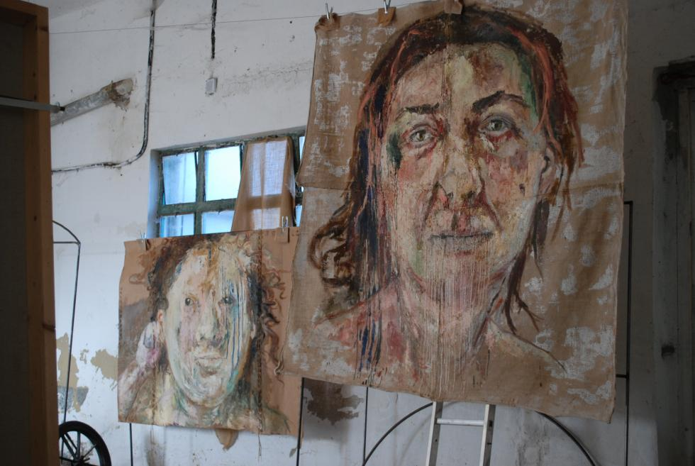 Barbara Stammel - Peintures et Installations