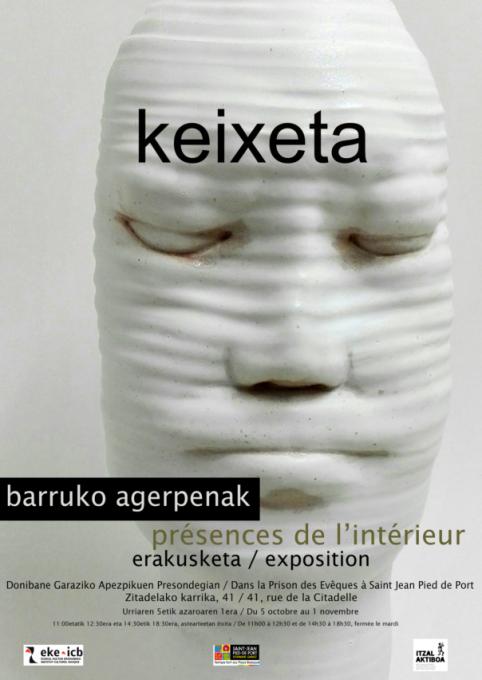 barruko-agerpenak:-keixeta-margolari-eta-zeramikagile-erakusketa-donibane-garazin