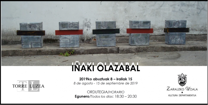 inaki-olazabal-exhibits-his-sculptures-in-zarautz