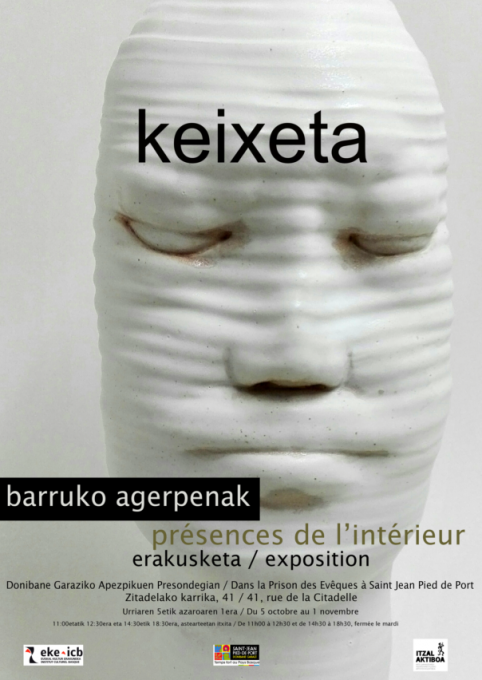 """Presences from Inside"": Ceramicist and painter Keixeta exhibits in St Jean Pied de Port"